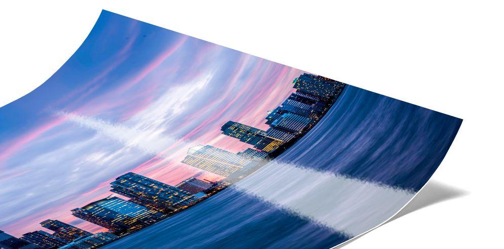 Fotoabzug als Poster auf Fuji Metallic Fotopapier