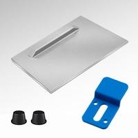 Spiegelblech Aufhänger 70x70mm und 100x100mm