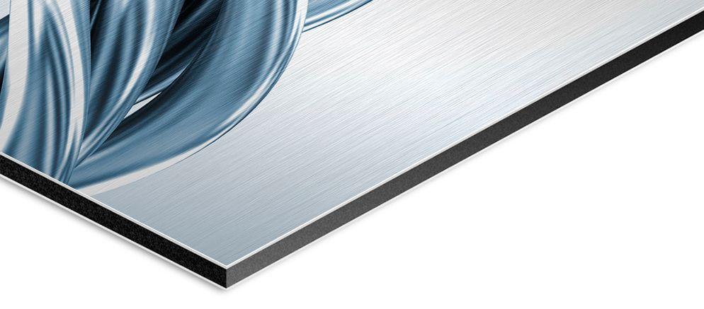 UV-Druck auf Aluminium Butlerfinish