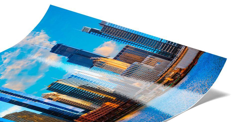Abzug Fuji Premium Fotoposter Vergrößerung