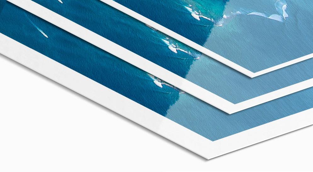 Weißrand Fuji Jetflex Hochglanzfoto