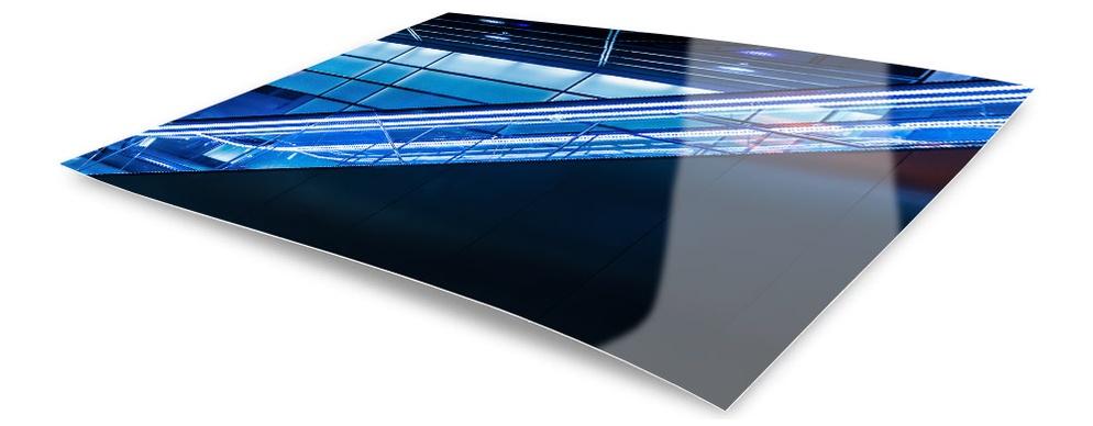 Ilford Metallic Print optimal plan mit unserem D-Roller