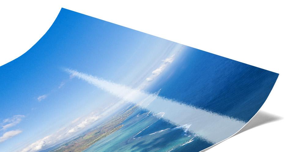 Hochglanz Abzug auf Fuji Jetflex Fotopapier