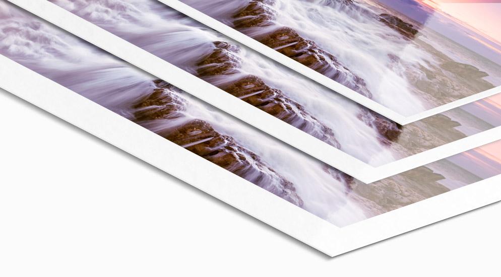 Fuji Professional Foto-Abzug mit Weißrand