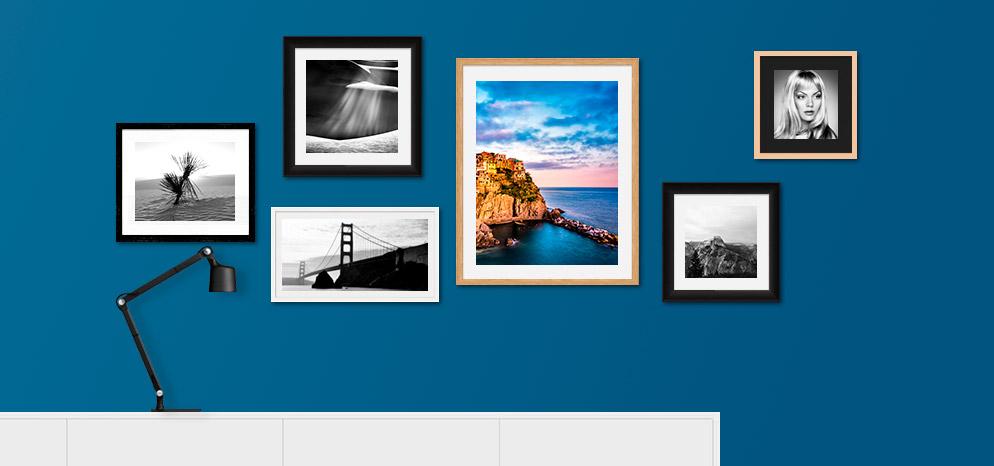Formatvielfalt Canvas Foto