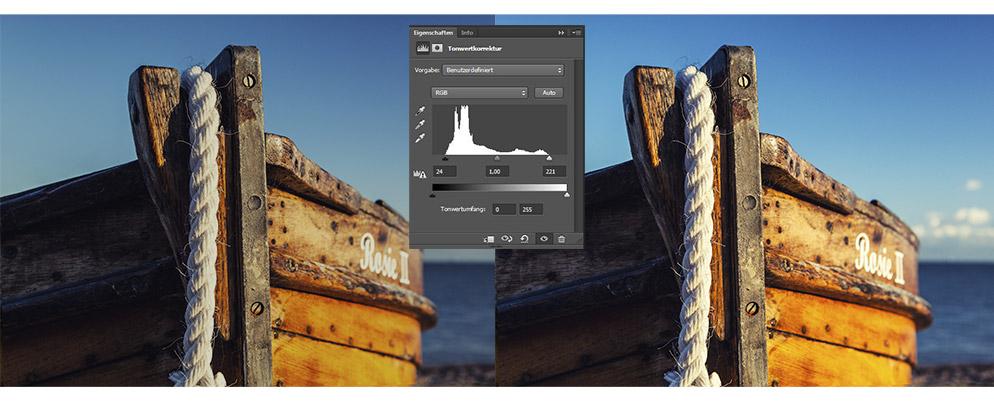 Bildoptimierung und Bildbearbeitung